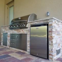 Custom Outdoor Kitchens Kitchen Fan Cover Golden Sunset  Design Elegant