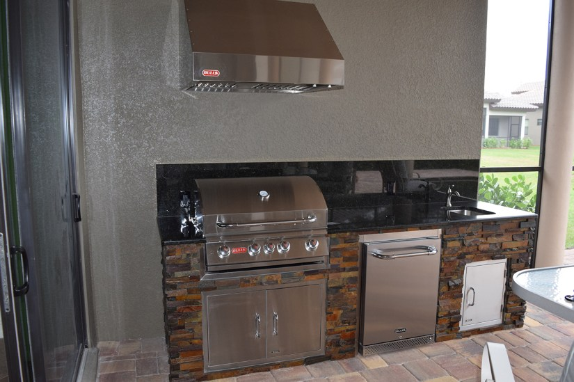 A Beautifully Constructed Outdoor Kitchen by Elegant Outdoor Kitchens