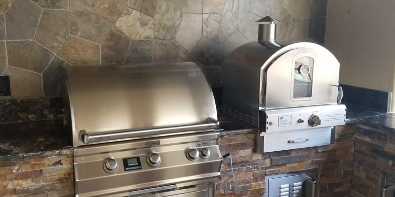 "Aurora 30"" Barbecue Grill with Rotisserie, Digital Temp, Infrared Burner"