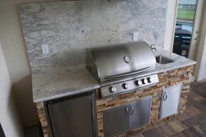 Barocco White Granite Counter-top