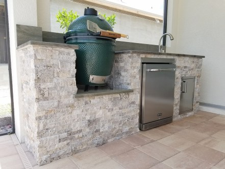 Custom Outdoor Kitchen Design & Manufacturing of Fort Myers, Florida