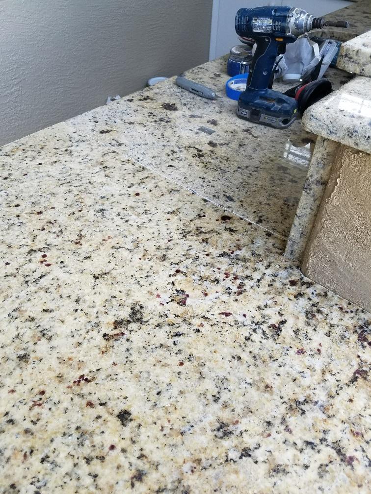 Level 1 Napoli Granite For The Outdoor Kitchen Addition
