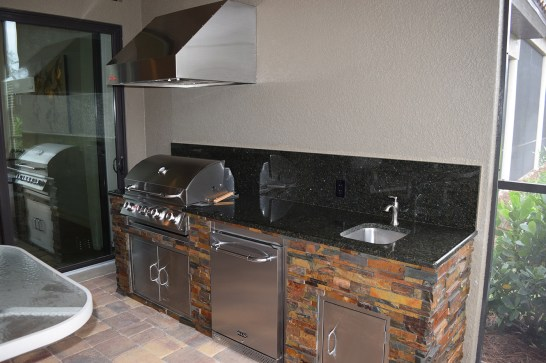 Outdoor Kitchen Fort Myers Paseo Esperanza