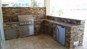 Custom Outdoor Kitchen Design & Manufacturing in Southwest Florida - Elegant Outdoor Kitchens