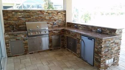 Custom Outdoor Kitchen Design & Manufacturing in Southwest Florida - Elegant Outdoor Kitchens