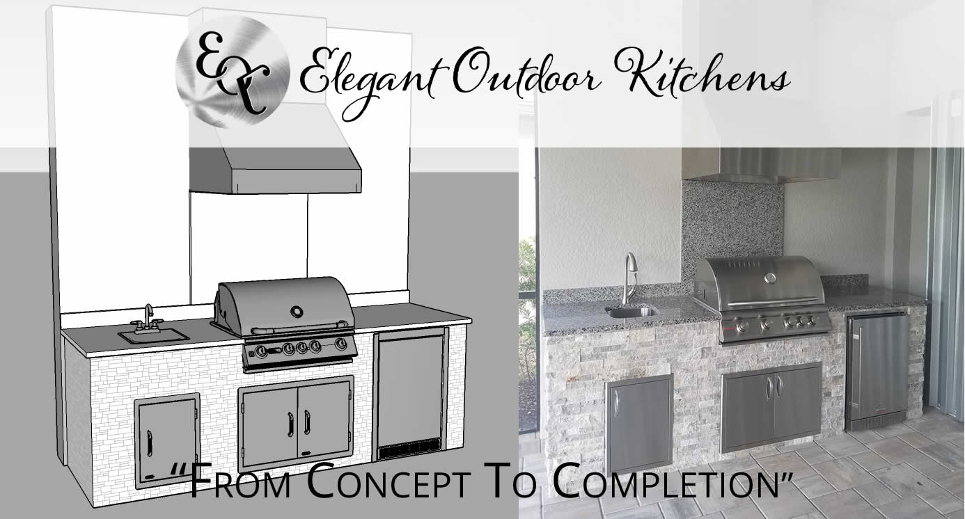 CAD - Computer Aided Outdoor Kitchen Design Archives - Elegant ...