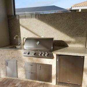 Materita - Pelican Preserve WCI Community Home Completed Outdoor Kitchen