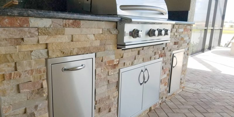 The Classically Beautiful Style EOK Outdoor Kitchen ...
