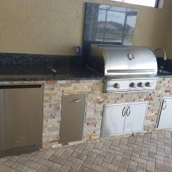 Stacked Stone Outdoor Kitchen Base Cabinet Dimensions The Classically Beautiful Style Eok