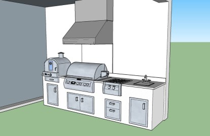 3D CAD Design Drawing Right Side