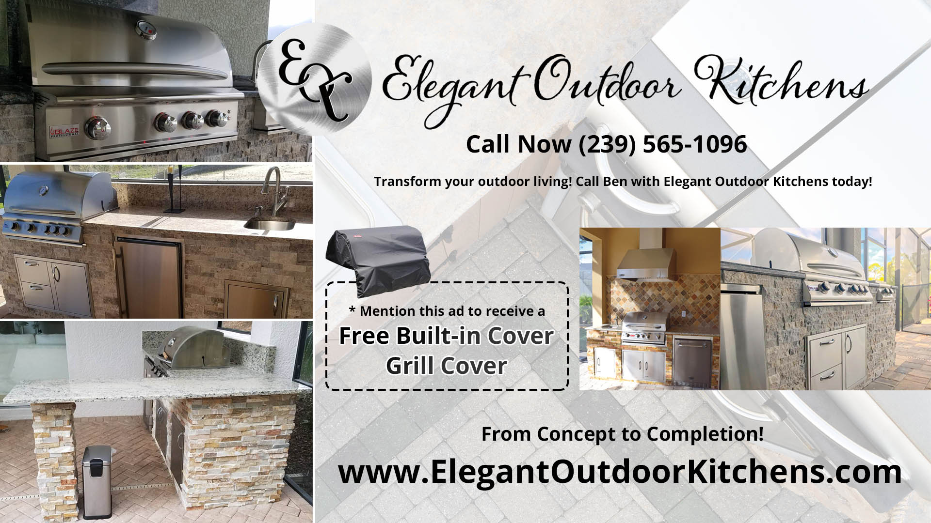 Elegant Solutions to Custom Outdoor Kitchens - Elegant Outdoor ...
