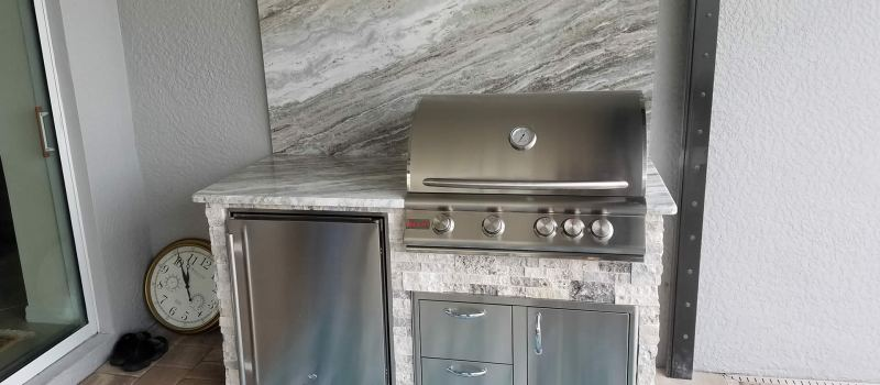 The Beautiful and Economical Barbecue Island - Elegant Outdoor Kitchens