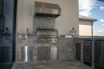 Outdoor Kitchen by Elegant Outdoor Kitchens, Fort Myers, FL.-05