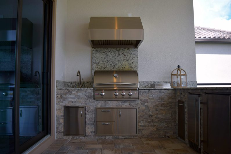 Outdoor Kitchen by Elegant Outdoor Kitchens, Fort Myers, FL.-03