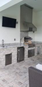 Branco Dallas Outdoor Kitchen by Elegant Outdoor Kitchens