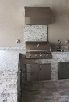 Taylor Morrison Home Outdoor Kitchen by Elegant Outdoor Kitchens
