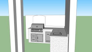 Outdoor kitchen designs Estero, FL