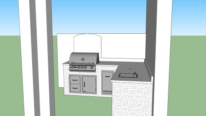 Outdoor kitchen designs Estero, FL
