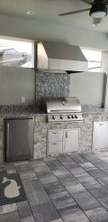 Custom Built Outdoor Kitchen by Elegant Outdoor Kitchens of SWFL
