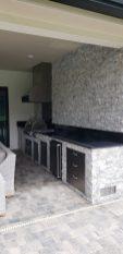 The Longest Custom Kitchen we've Constructed So Far - Elegant Outdoor Kitchens