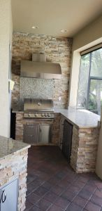 Custom Outdoor Kitchen Designed by Elegant Outdoor Kitchens of SWFL