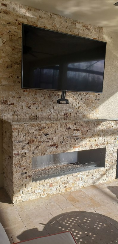 Sealoc Outdoor-Rated LCD Flat-Screen TV - Elegant Outdoor Kitchens of Fort Myers, Florida