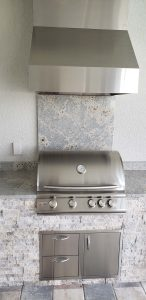 Custom Summer Outdoor Kitchen by Elegant Outdoor Kitchens