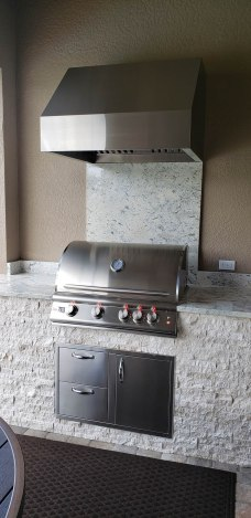 The Classic Outdoor Kitchen by Elegant Outdoor Kitchens of Fort Myers, Florida