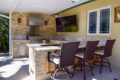 Custom Outdoor Kitchen Design and Construction by Elegant Outdoo