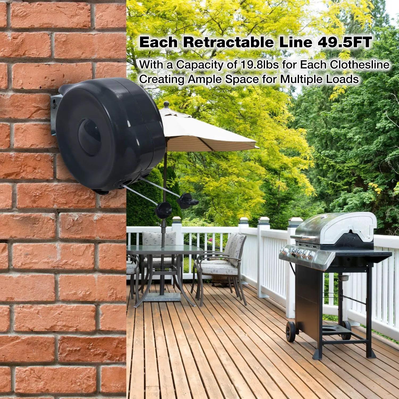 Best outdoor rectractable clothesline