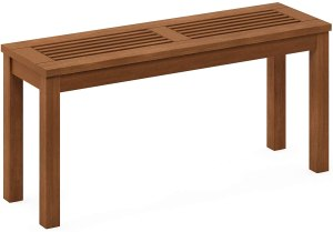 Furinno, one of the best outdoor backless benches under $100