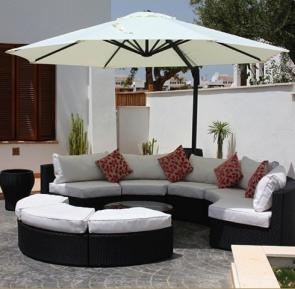 The use of outdoor umbrella is one of the ways on how to protect outdoor cushions