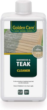Golden Bright - One of the best sealers for outdoor wood furniture