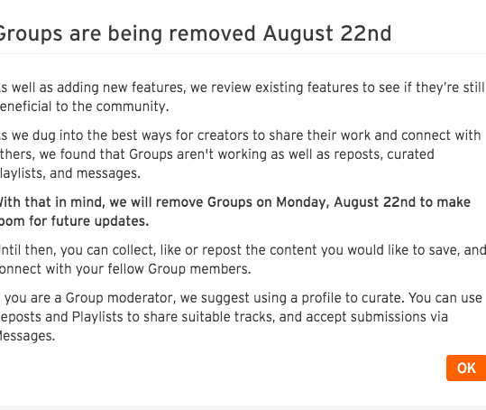 Why I am fed up with Soundcloud.