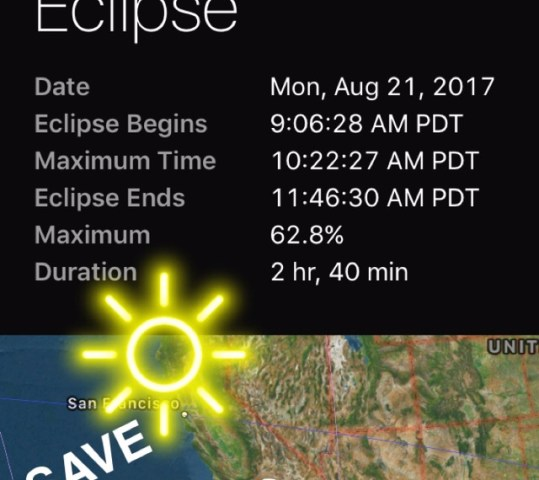 Solar Eclipse 2017 21st of August