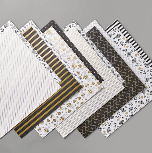 Golden Honey Specialty Designer Series Paper
