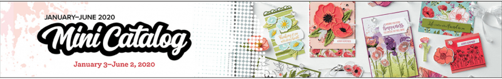 Mini Catalog Banner from Stampin Up!