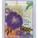 Get well card make with Stampin