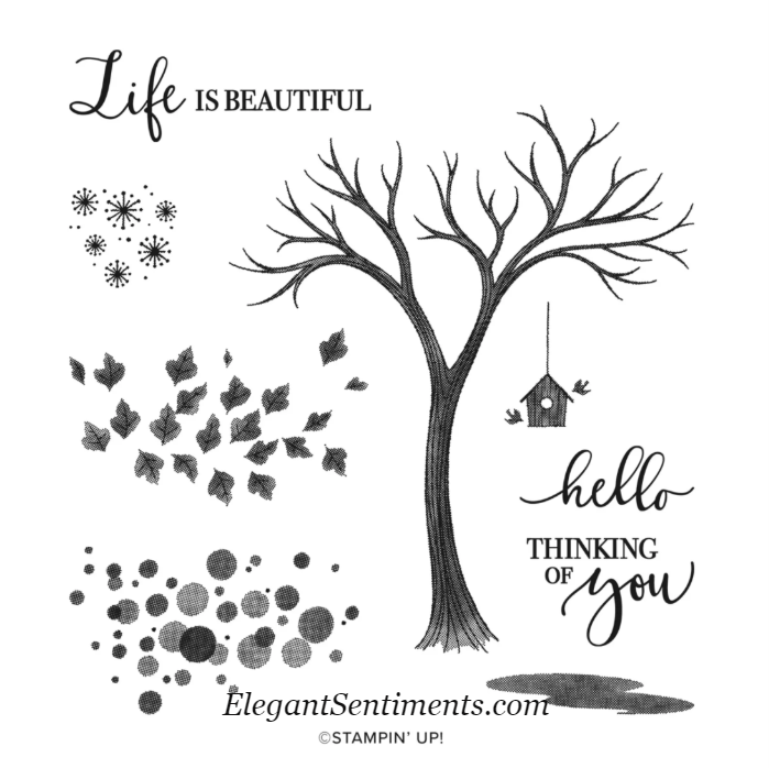 Life is Beautiful Stamp Set by Stampin' Up!