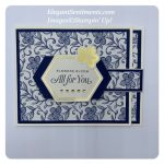 Thinking of you lever card made with Stampin
