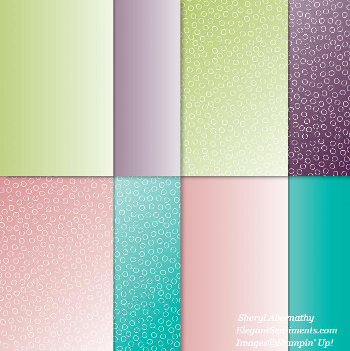 Oh So Ombre Designer Series Paper by Stampin' Up!