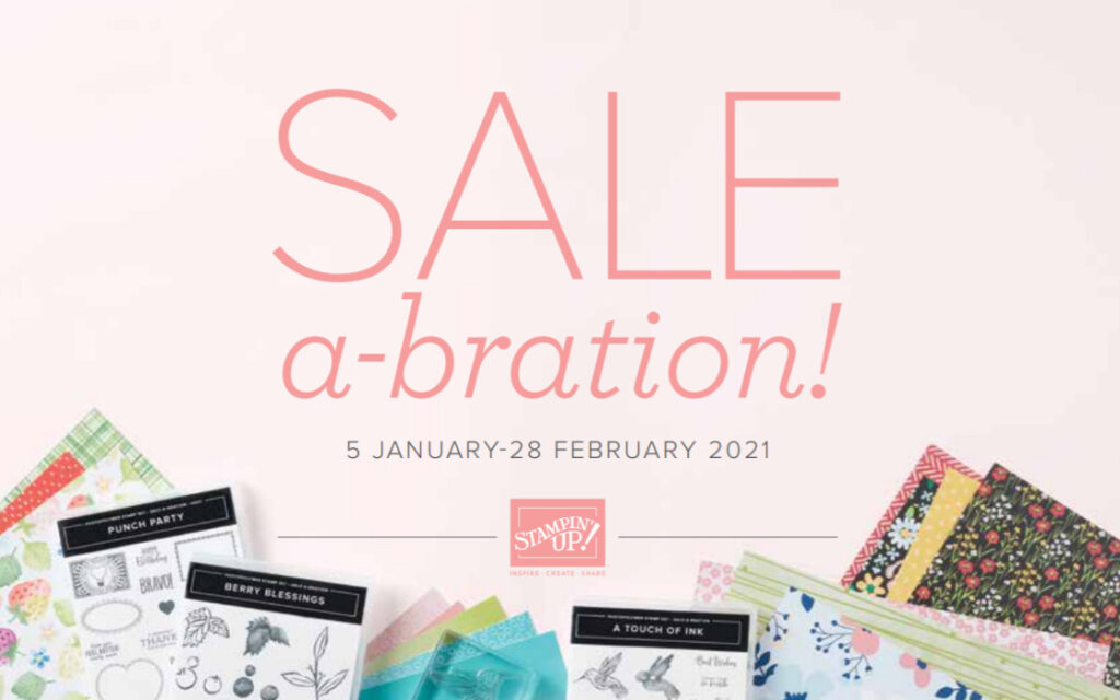 Cover of the Jan-February Sale-a-bration 2021 catalog