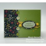 Birthday card make with Stampin