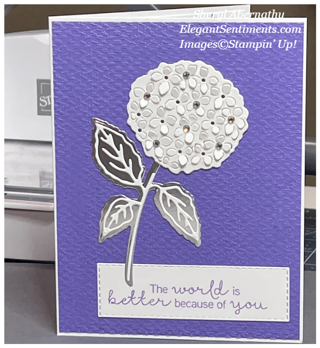 Friendship card made with Stampin; Up! products