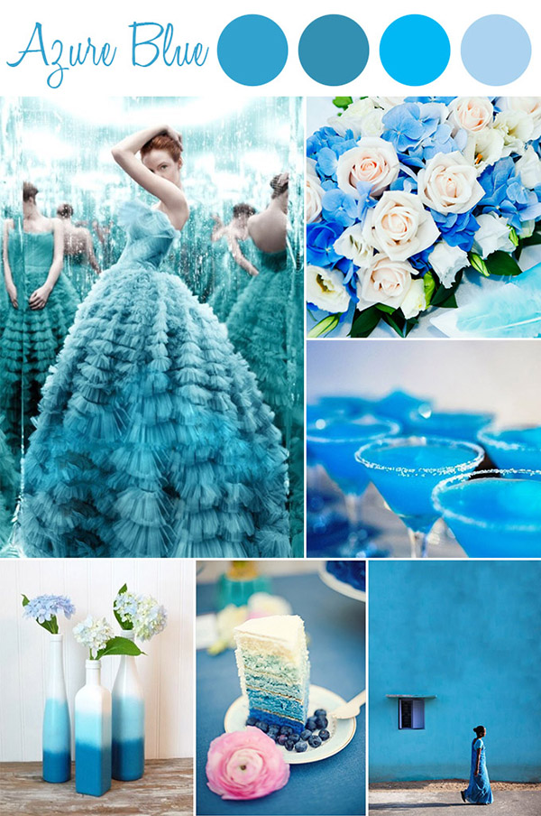 6 Perfect Shades Of Blue Wedding Color Ideas And Wedding