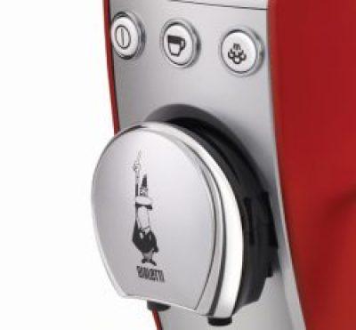 Detalle de los botones de la cafetera