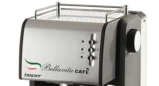 Diseño de la Cafetera Beper Bellavita