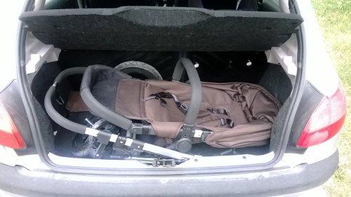 Borsino Baby en Peugeot 206