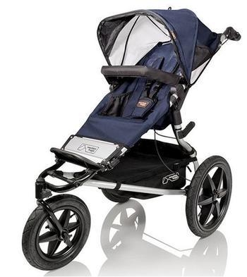 Carros de bebe para correr. Cada vez más de moda.
