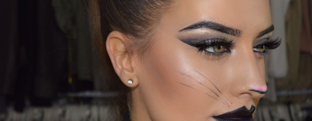contoured cat halloween makeup 2015 eleise lucraft blogger